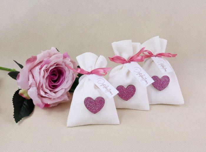 woreczki różowe